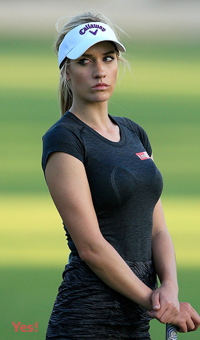 hot women golfers